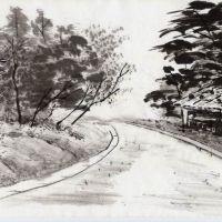 Японская природа в живописи