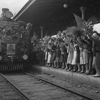 Белорусский вокзал, встреча