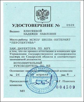 Акт приема-передачи транспортного средства (образец)