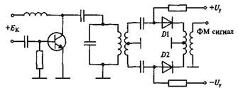 Схема бинарной фазовой манипуляции.  Фазовый модулятор содержит два электронных... дев. возможна с помощью схемы...
