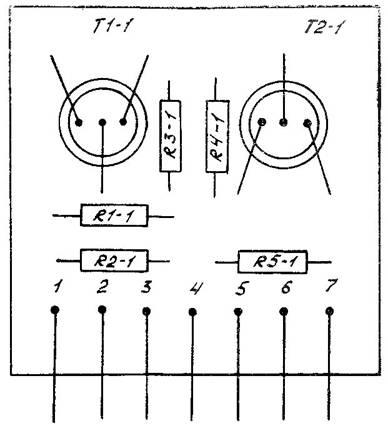 принципиальная электрическая схема усилителя мощности