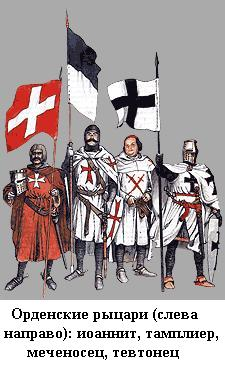 Доклад на тему рыцарские ордена 2003