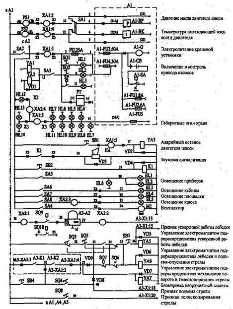 принципиальная схема крана с описанием
