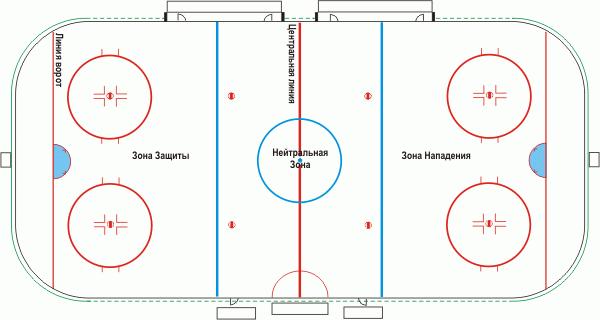 Акт готовности хоккейного