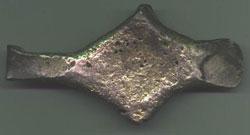 Платежный слиток гривна 'черниговского' типа. XII-XIII века. Увеличить
