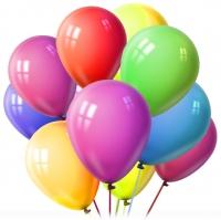 """Конверт  """"50 причин почему я тебя люблю """".  15 шариков с гелием в ассортименте."""