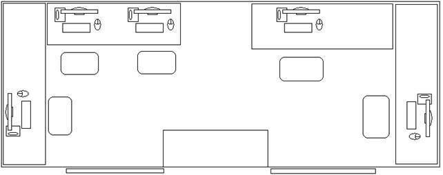 Рис. 2 Схема расположения