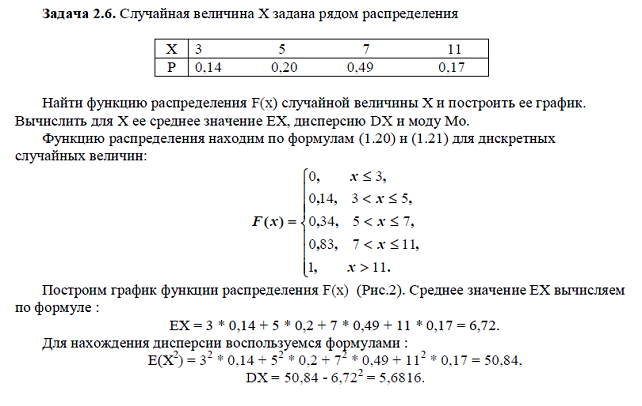 По 2 курс статистики решебник