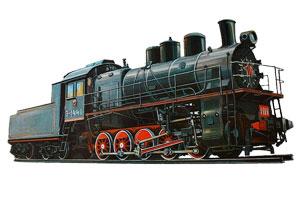 Детские стихи про транспорт, поезд