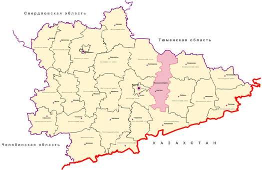 Курганской области