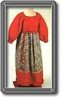 Вышивание бисером, пошив легкого платья. В отличие от европейских стран, в России, по-видимому, практически отсутствовали мастерские по вышиванию бисером, работавшие на продажу.