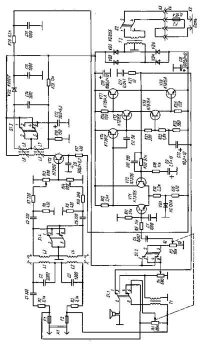 нужна схема магнитофона