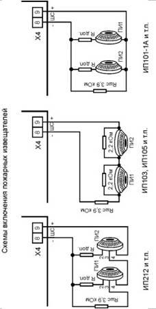 Кварц прибор приемно-контрольный охранно-пожарный схема подключение