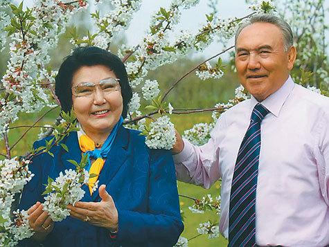 нурсултан назарбаев и его третья жена фото