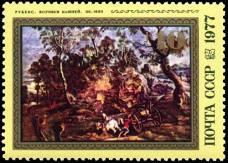 """П. Рубенс. """"Возчики камней"""". Около 1620 г."""