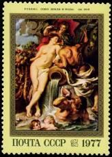 """П. Рубенс. """"Союз Земли и Воды"""". Около 1618 г."""