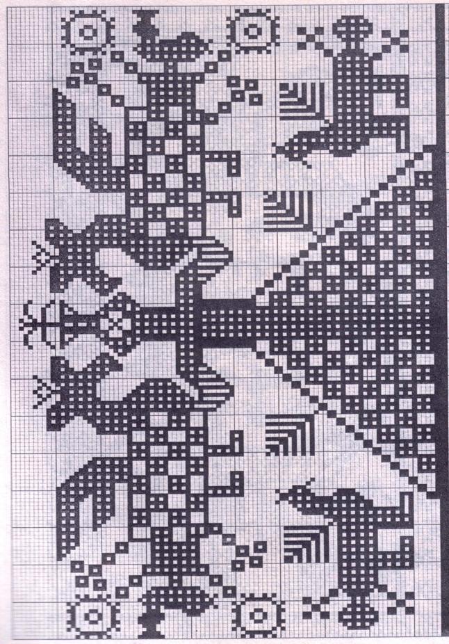 Схемы строчевой вышивки 59