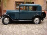 Один из автомобилей, выпускавшихся при Ситроене