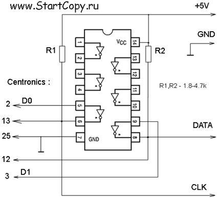 программатор микросхем схема
