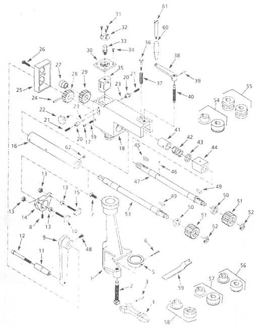 Зиговочный станок своими руками чертежи 44
