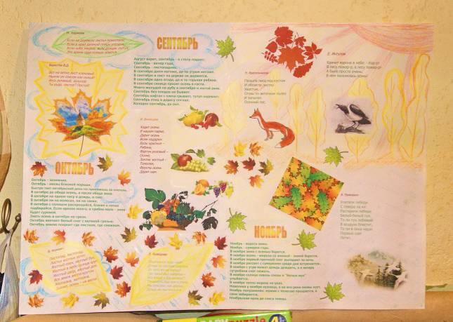 Картинки для газеты про осень