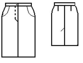 Как закрыть вытачки в юбке