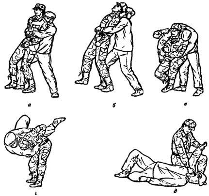 Рукопашный бой обучение в картинках