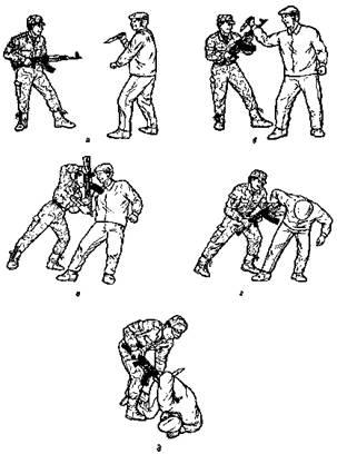 Как сделать решающий удар в уходе от клинка