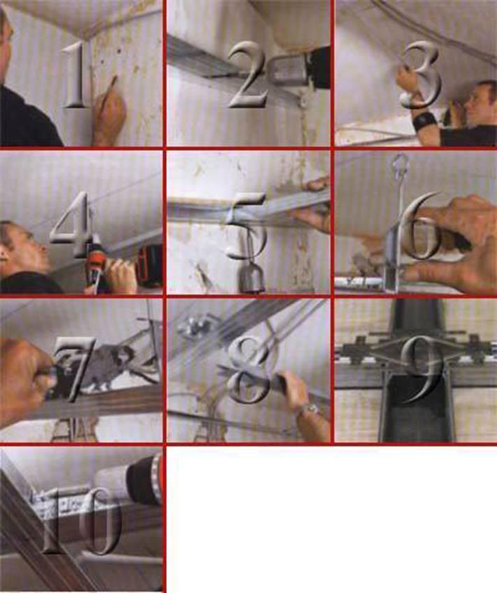 Каркас для подвесного потолка своими руками
