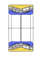 Cтупичные подшипники типа HUB-I - двухрядный радиально-упорный роликовый конический подшипник с уплотнениями