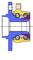 Cтупичные подшипники типа HUB-III - конструкция