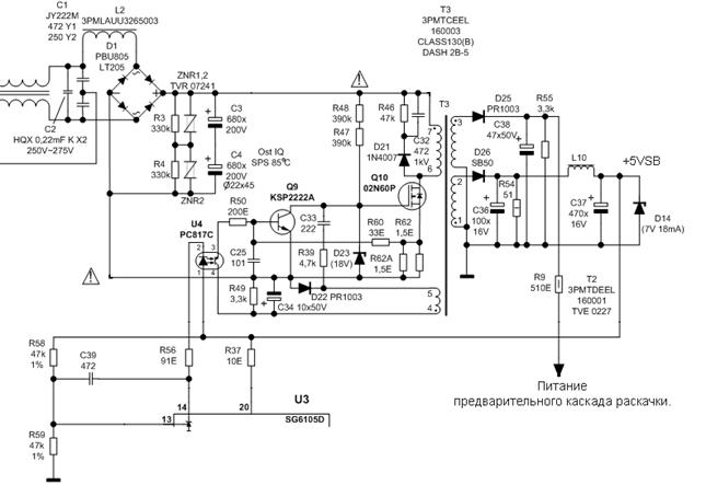 Рис. 3 – схема источника