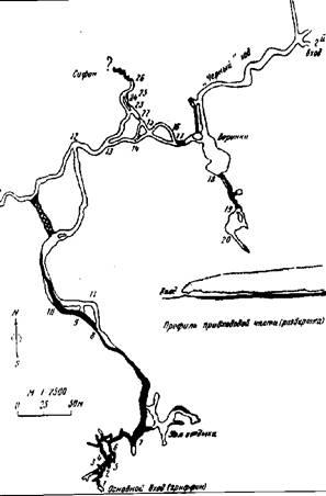 План пещеры Шемахинская-1