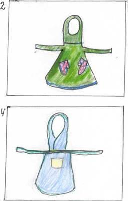 Декоративное вышивание по канве