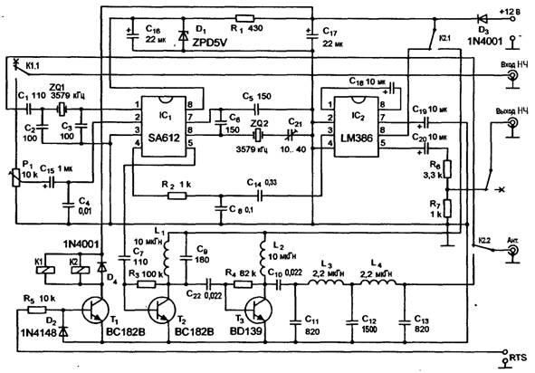 Даже с QRP-трансивером можно