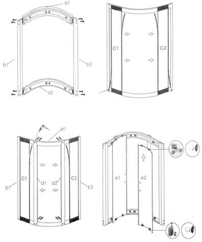 душевая кабина сеан инструкция