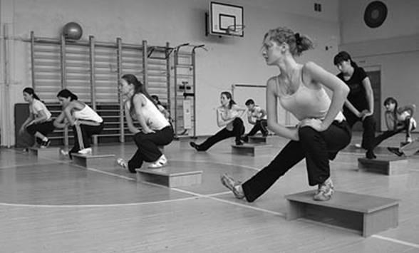 Упражнения на степ платформе в домашних условиях