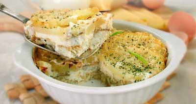 Картофель запеченный по русски рецепт