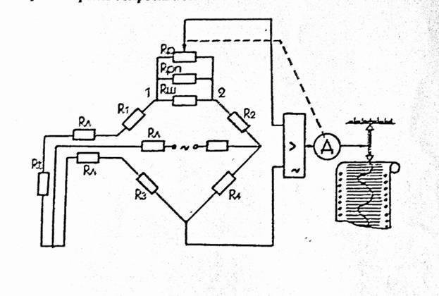 Автоматический мост схема