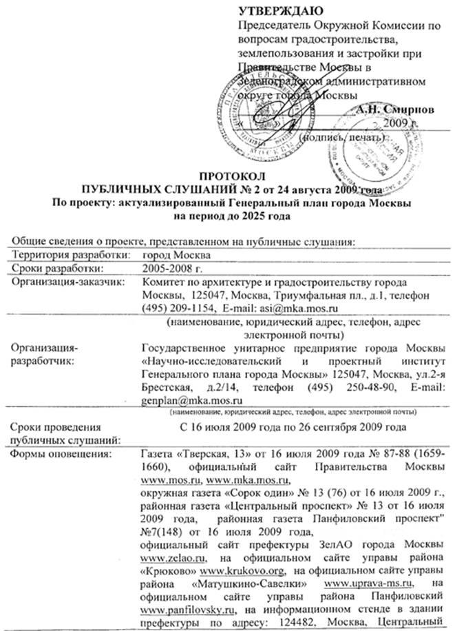 территории Зеленоградского