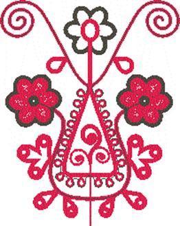 Русская народная вышивка изо 5 класс рисунки детей