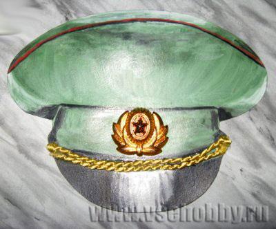 Фуражка солдатская своими руками - Pizza e Birra