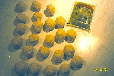 крабовые шарики