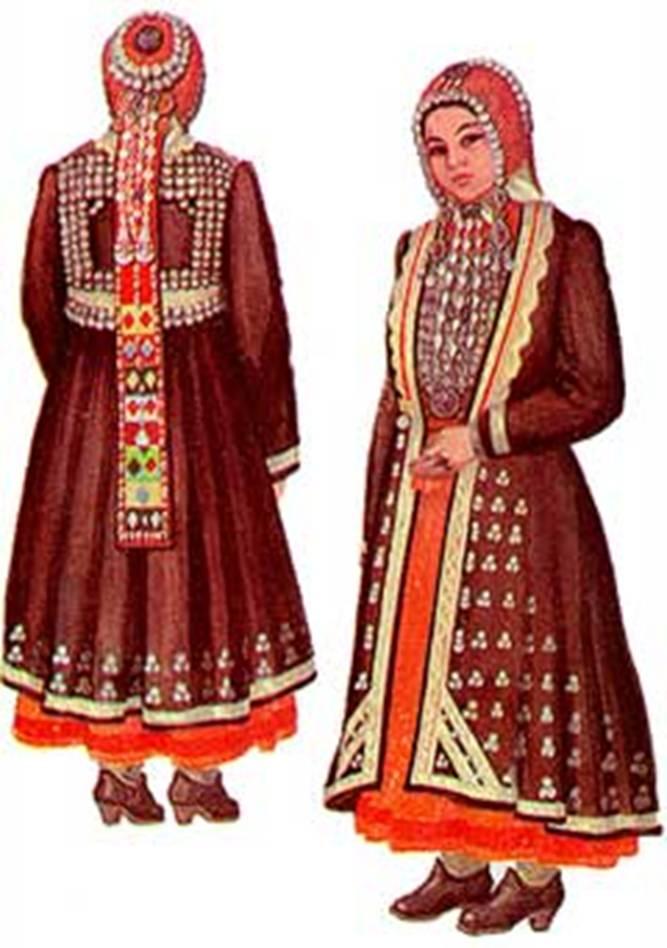 Башкирские куклы