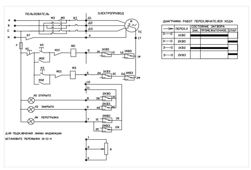 Электрический привод схемы