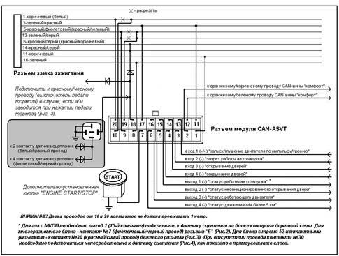 Рис. 1. Схема подключения