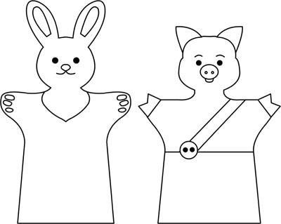 Перчаточный кукольный театр своими руками выкройки