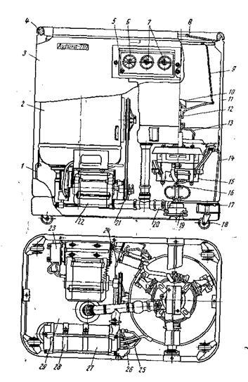 Ремонт полуавтоматической стиральной машины