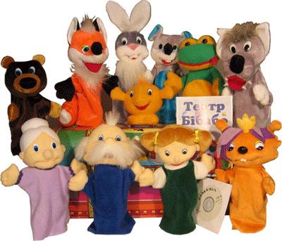 Театральные игрушки для детского сада