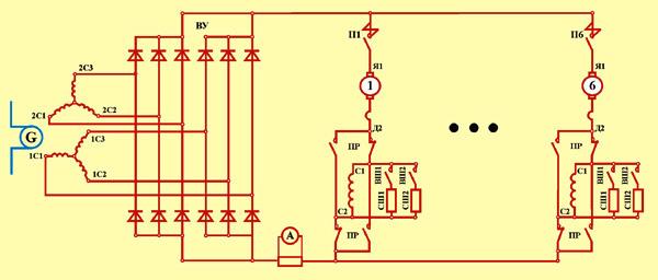 схемы тепловоза 2ТЭ116